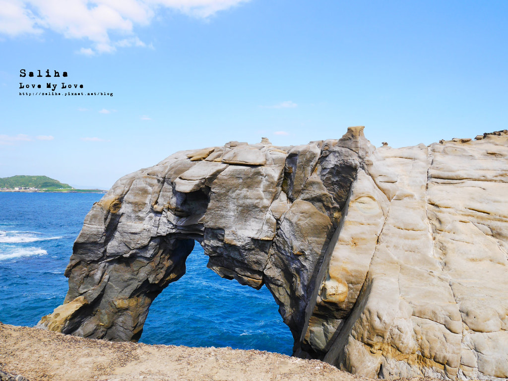 新北北海岸一日遊瑞芳必拍好玩景點推薦象鼻岩打卡 (15)