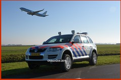 KLM Boeing and Touareg.