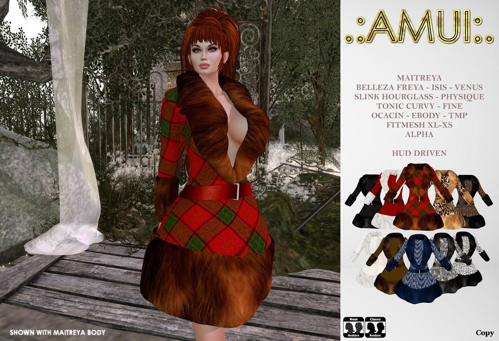 ".:AMUI:. ""Yvette"" Coat"