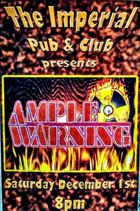 Ample Warning 12-1-18