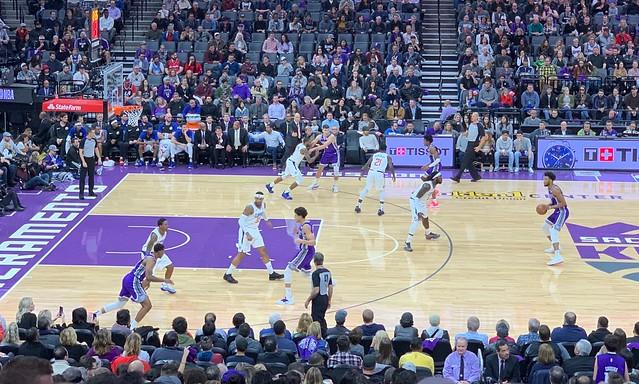 2018 Kings versus Clippers