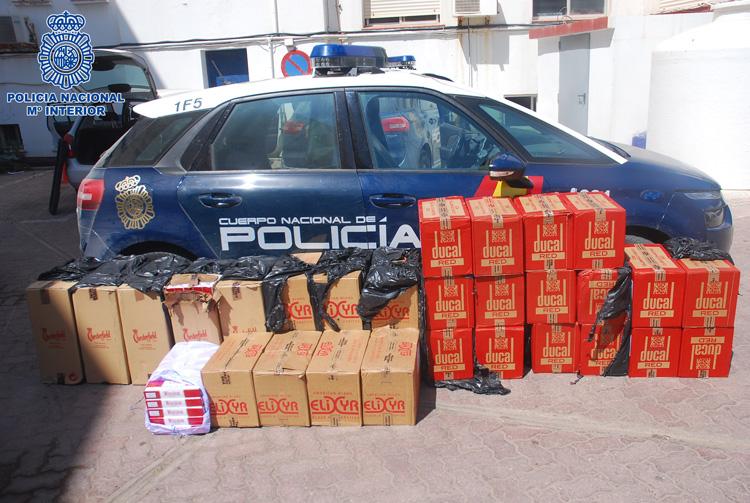 Intervienen en La Línea más de 500.000 cajetillas de tabaco contrabando durante 2018