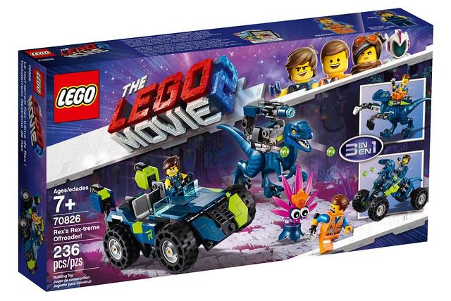 大玩混搭風~題材風格包羅萬象! LEGO 70820~70826、70828、70832、70833《樂高玩電影2》The LEGO Movie 2 Sets 全新電影盒組發表(下)