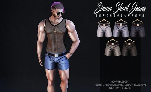 Simon Short Jeans