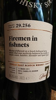SMWS 29.256 - Firemen in fishnets