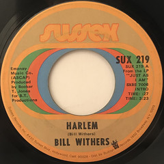 BILL WITHERS:HARLEM(LABEL SIDE-A)