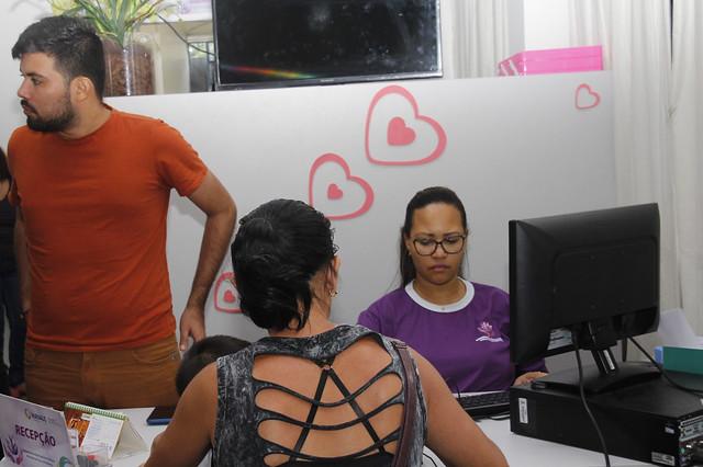 30.11.18 Ação de cidadania para mulheres.