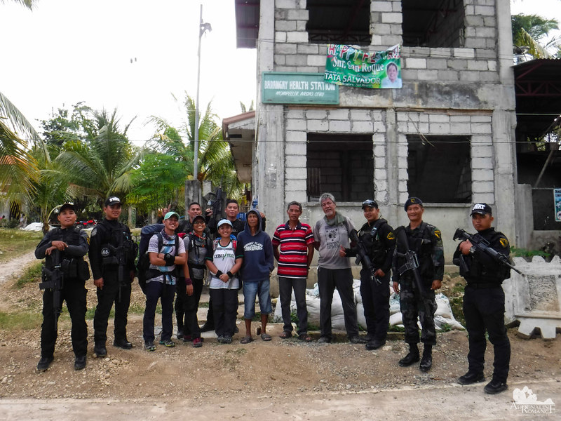 With Argao SWAT
