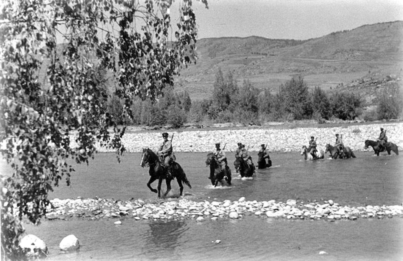 1940. Катон-Карагайский район Восточно-Казахстанской области Казахской ССР. Август  (2)