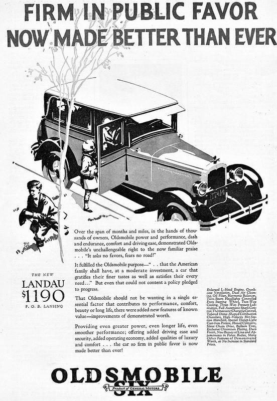 1926 Oldsmobile Six Landau