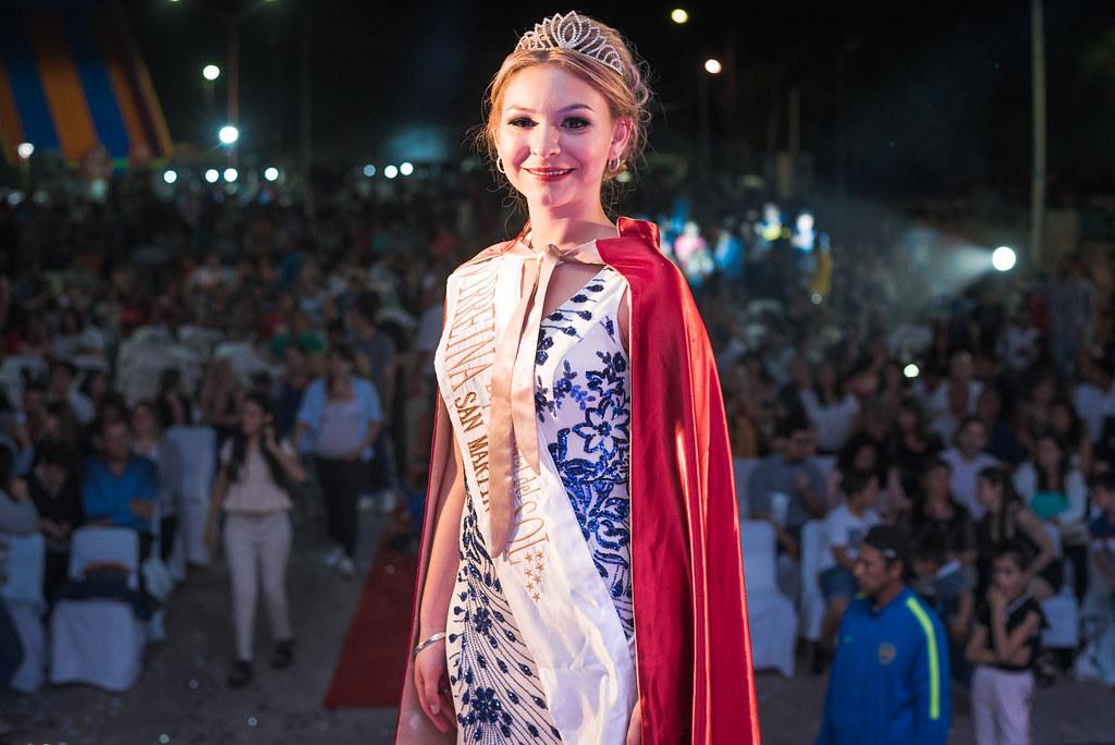 Elección de la reina en San Martin