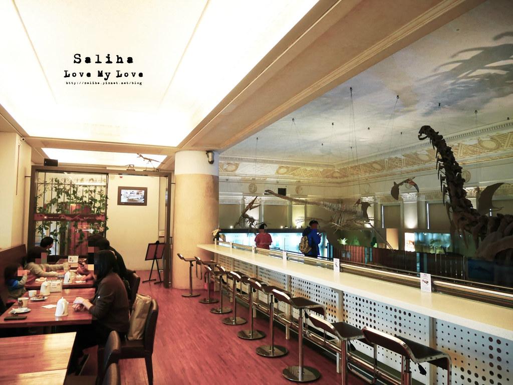 台北車站親子餐廳台灣博物館石尚恐龍主題餐廳恐龍咖啡館 (1)