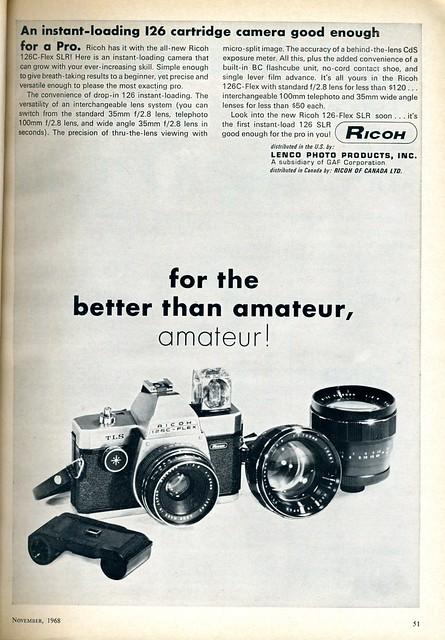 Ricoh 126C-Flex 1968