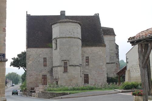 Le château de Gontaud de Nogaret