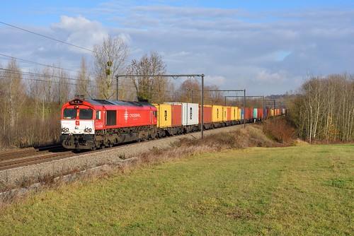 Crossrail DE 6312 @ s'Herenelderen