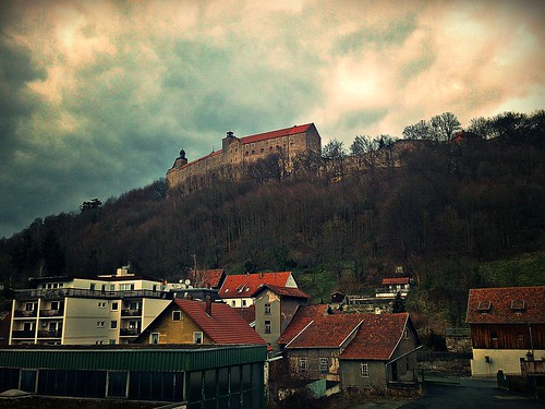 Die Plassenburg in Kulmbach, Oberfranken