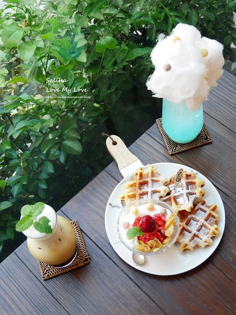 台北中山站咖啡廳下午茶推薦一直是晴天浮誇系夢幻飲料甜點鬆餅咖啡 (4)