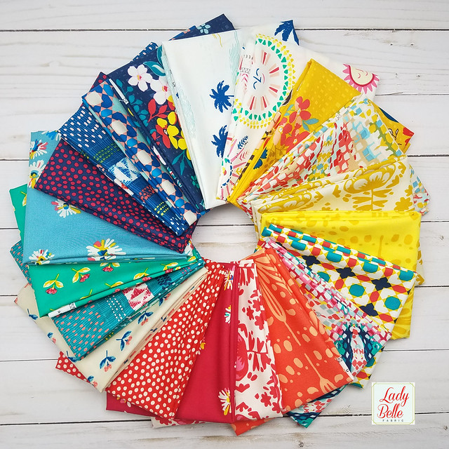 A Sun Kissed GIVEAWAY with Lady Belle Fabrics