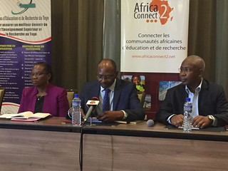 Press conference on AC2:AC3 with TogoRER's Chairperson and Coordinator | by WACREN