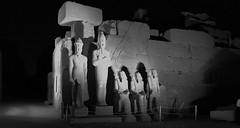 Karnak Sound and Light Show, Luxor, Egypt.