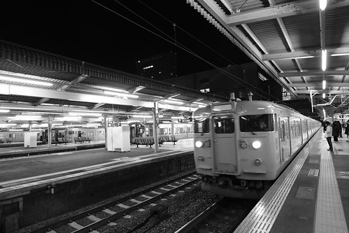Hiroshima Station in early morning on 25-11-2018 (10)