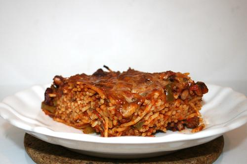 Baked Spaghetti - Reheated / Gebackene Spaghetti - Aufgewärmt