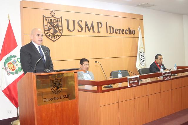 Facultad de Derecho de la Universidad de San Martín de Porres inauguró el  Curso Taller sobre Temas de Derecho Procesal Penal