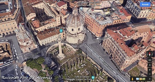 1823 2018 Foro e Colonna di Trajana b, Foto de Alvariis By Google Maps