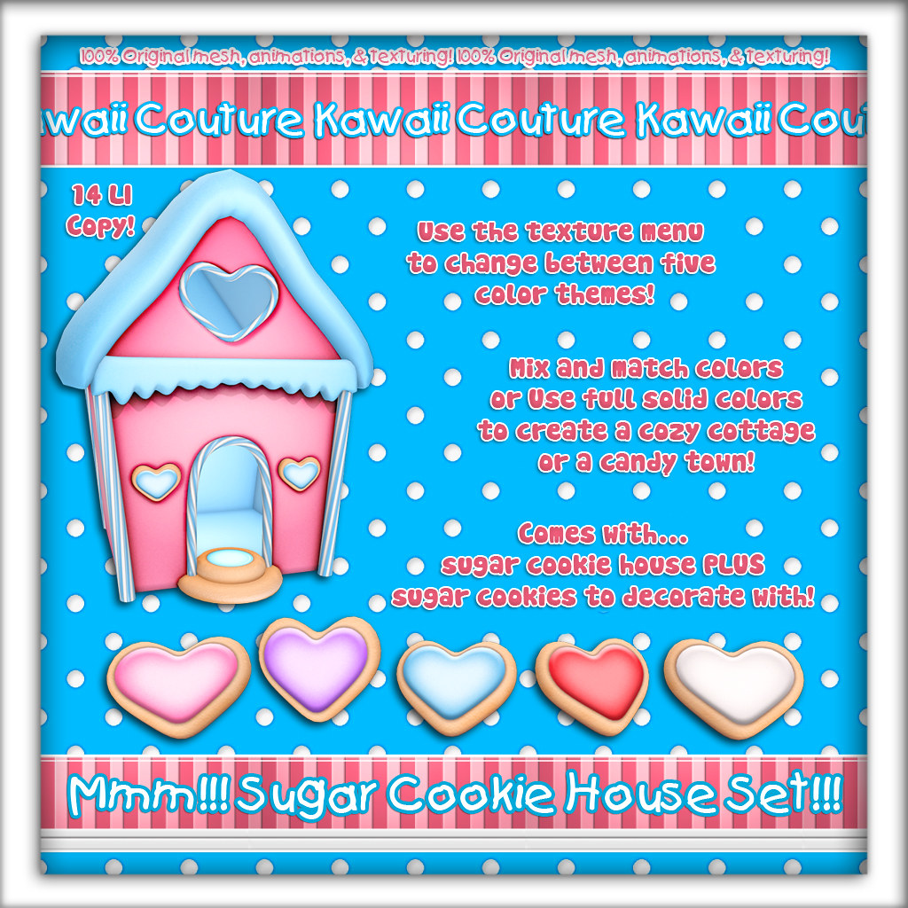 Kawaii Couture - Sugar Cookie House - TeleportHub.com Live!