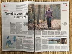 In de krant! #heldersecourant #texel