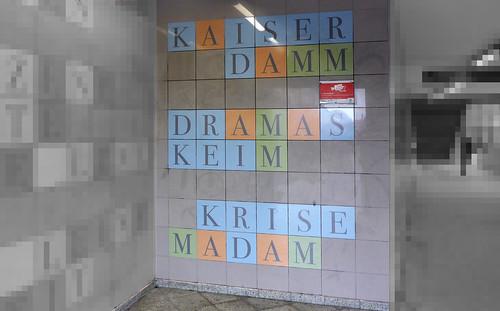 Anagramm Kaiserdamm