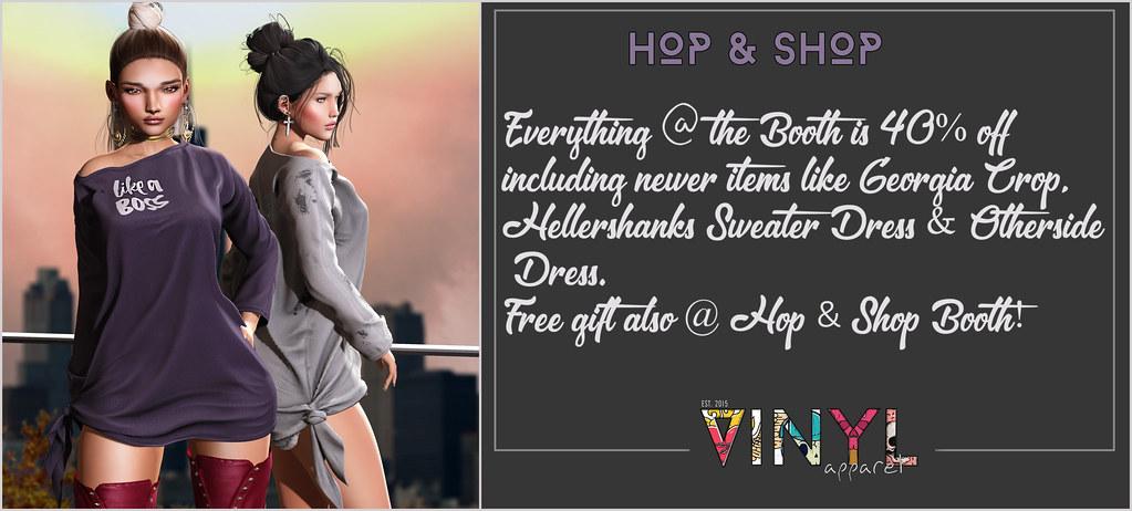VINYL @ Hop & Shop