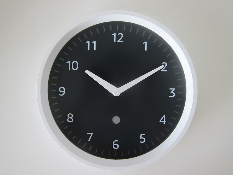 Amazon Echo Wall Clock -  Front