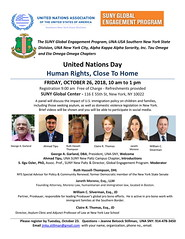 Flier UN DAY at SUNY GLOBAL Center 10 26 18-1