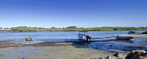 Low tide on the Macleay