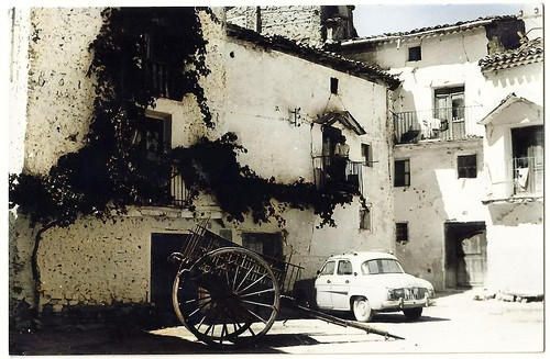 Cañete (Cuenca): Plaza de la Muralla