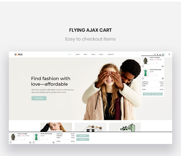 flying ajax cart-Bos Deerus - Unisex Fashion and Accessories