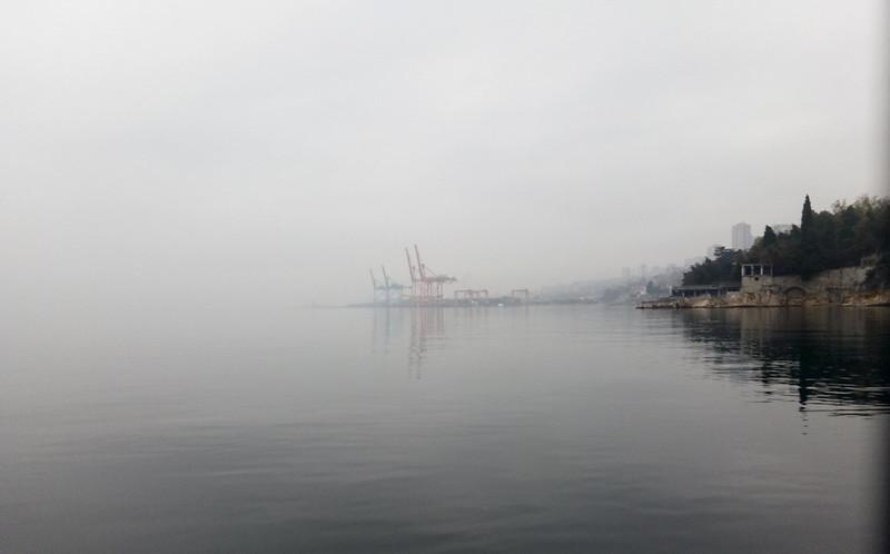 Jesenje magle na moru