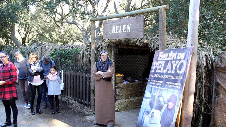 El Belén Viviente de Pelayo abre sus puertas en su nueva ubicación