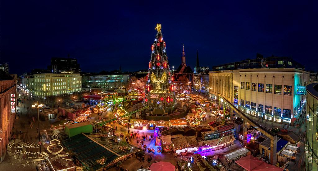 Dortmund Weihnachtsbaum.Dortmunder Weihnachtsbaum Frank Heldt Flickr