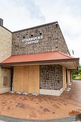 Waikola Starbucks during hurricane lane 2018 Big island, Hawaii