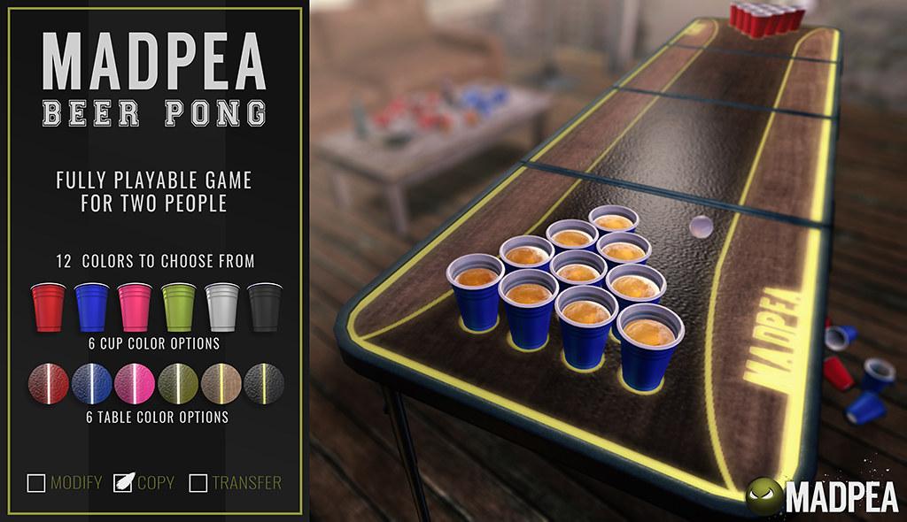 MadPea Beer Pong
