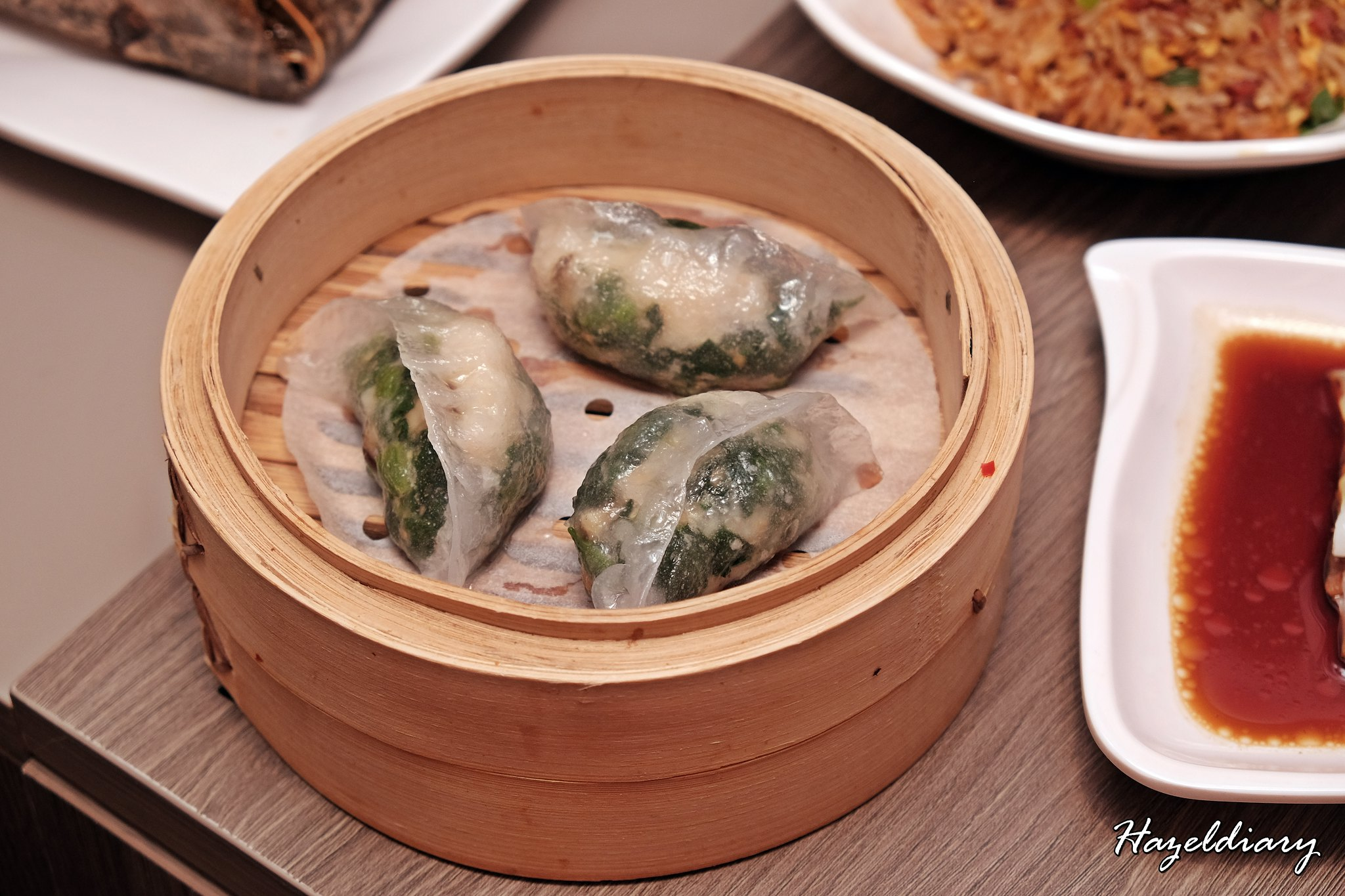 Tim Ho Wan -Crystal Dumpling with Spinach