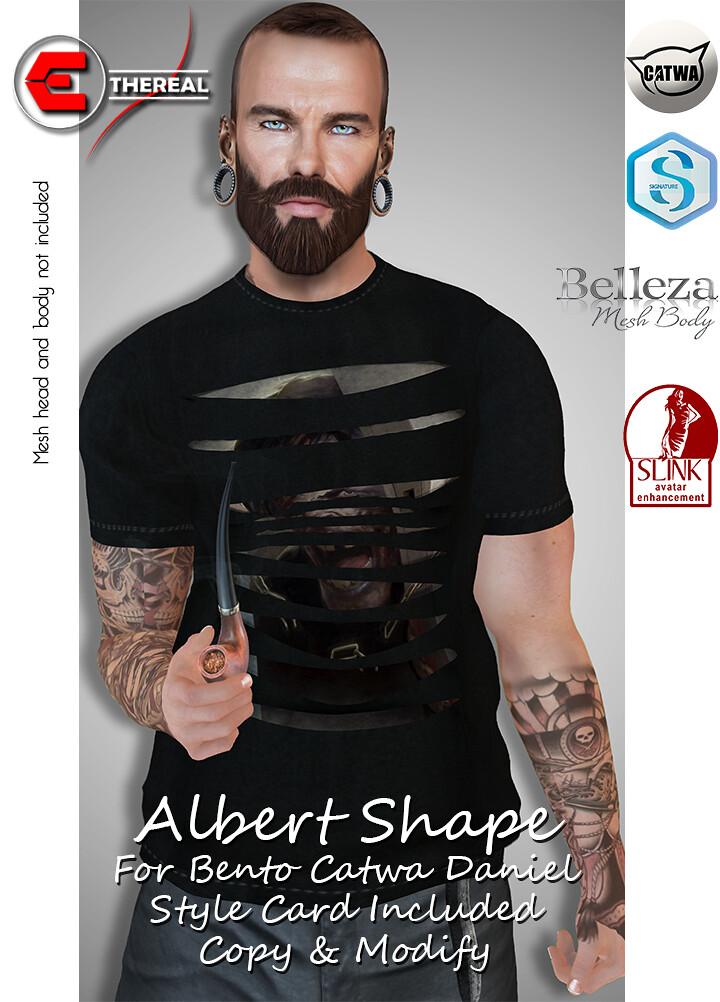 Albert Shape For Bento Catwa Daniel