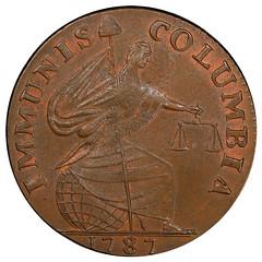 1787 Immunis Columbia obverse
