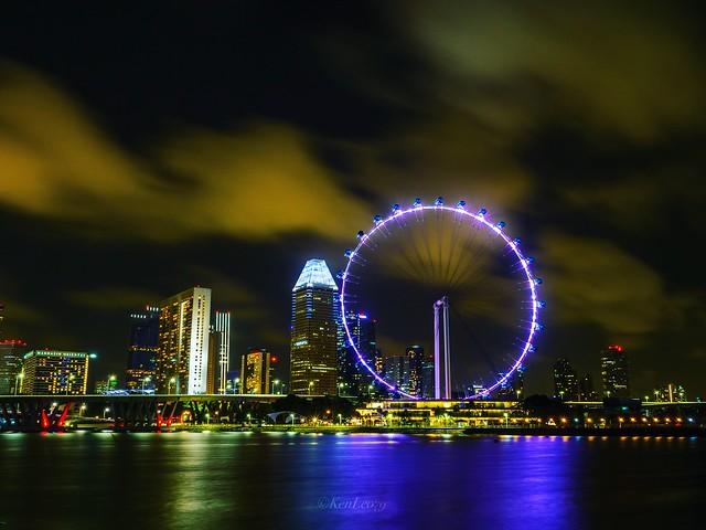 ferry wheel in singapore