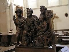 20080519 25929 Jakobus Montreal Kirche Drei Könige Maria Holzschnitzerei - Photo of Marmeaux