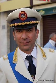 Il comandante Ivano Eramo (foto F. Cristantielli)