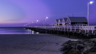 Busselton Jetty Blue Hour 02