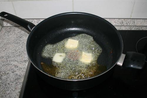 17 - Restliche Butter schmelzen / Melt remaining butter